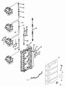 Mercury Marine 115 Hp  4 Cylinder  Attenuator Plate Parts