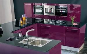 Cuisine Couleur Aubergine : d co cuisine couleur aubergine ~ Premium-room.com Idées de Décoration