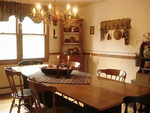 A Primitive Place Primitive Colonial Inspired Dining Rooms