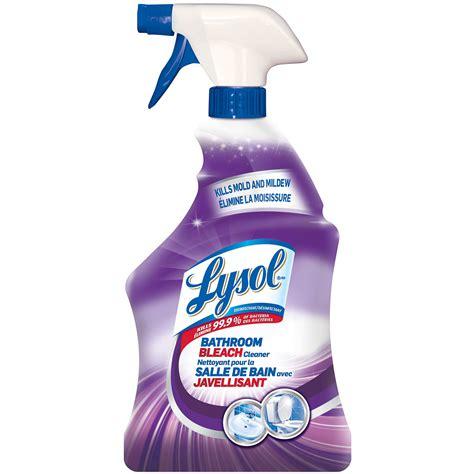 lysol mold and mildew bathroom bleach cleaner 950 ml