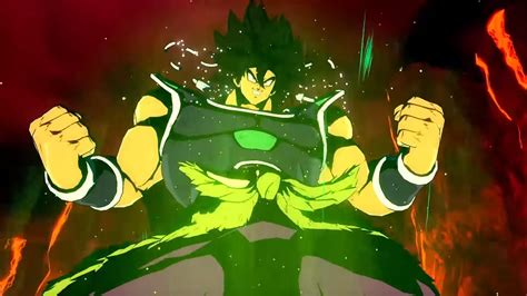dragon ball fighterz trailer shows broly dbs  action egm