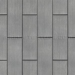 Texture 308: Zinc panel wall cladding - Square Texture
