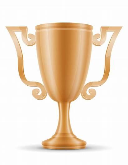 Cup Winner Bronze Vector Illustration Clipart Graphics