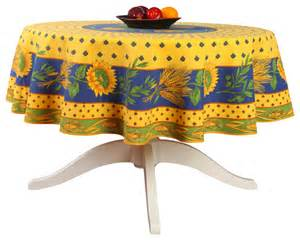 yellow bathroom decorating ideas provencal polyester tablecloth tournesol yellow
