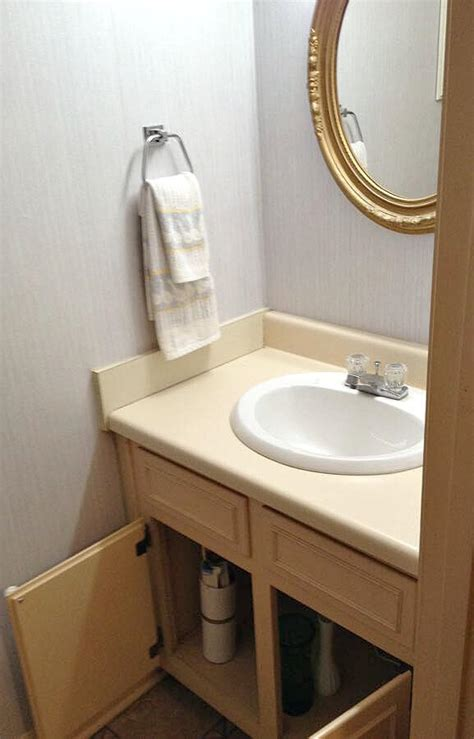 diy kitchen sink replacement diy wood bathroom countertop an easy way to change your 6863