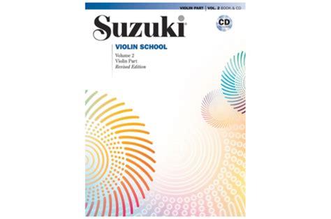 Suzuki Violin School Volume 2 by Suzuki Violin School Violin Part Cd Volume 2 Revised