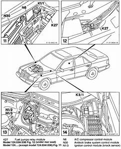 Where Is The Fuel Pump Relay Located On A 1995 Mercedes E320