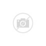 Global Round Map Icon Earth Outline Thin