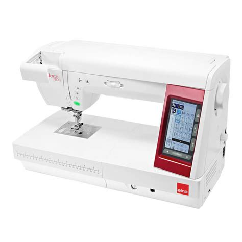 Elna Excellence 780 Plus Sewing Machines Janome Sewing