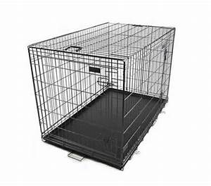 Collapsible pet cage dog crate 42quot extra large xl size for Extra large collapsible dog crate