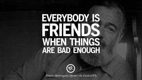 quotes  ernest hemingway  love life  death