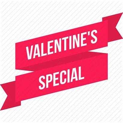 Valentine Special Offer Icon Discount Tag Ribbon