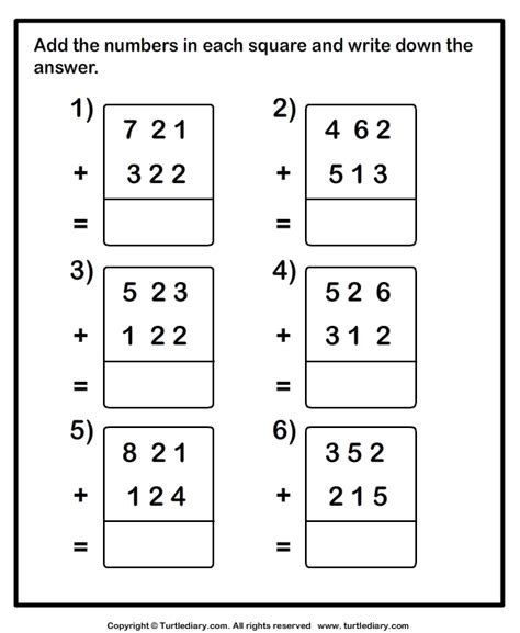 addition without regrouping worksheet for grade 1 three digit addition with or without regrouping worksheet