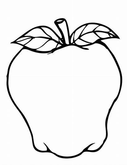 Apple Coloring Pages Printable Colouring Squash Picking