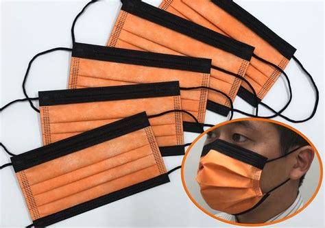 カラー 不織布 マスク 日本 製