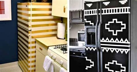 creative modern ideas  kitchen cabinets  fridge