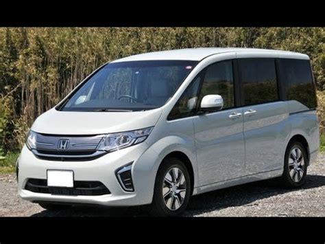 honda stepwgn minivan review youtube