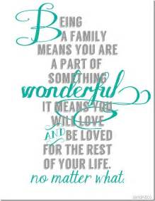 Free Printable Quotes About Family