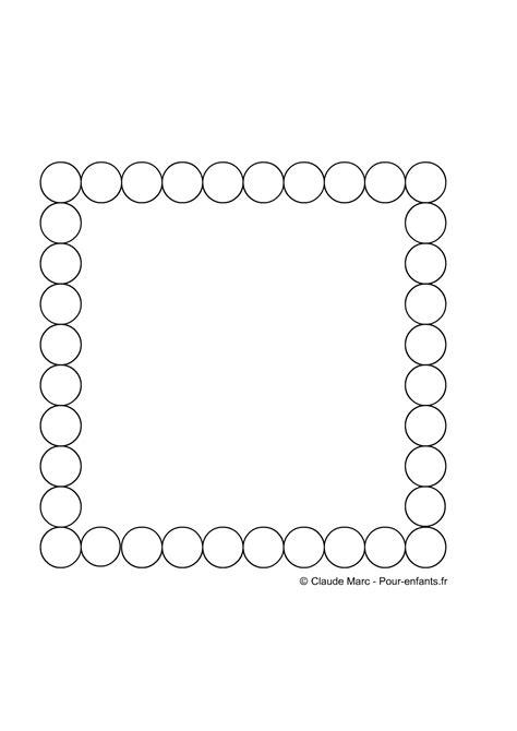 photo pour cadre a imprimer frise maternelle a imprimer gratuitement fiches enfants cadre cercles jeux frises geometriques