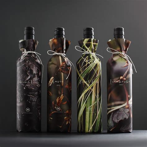 design and wine paper wrapped wine bottles 10 cool design ideas