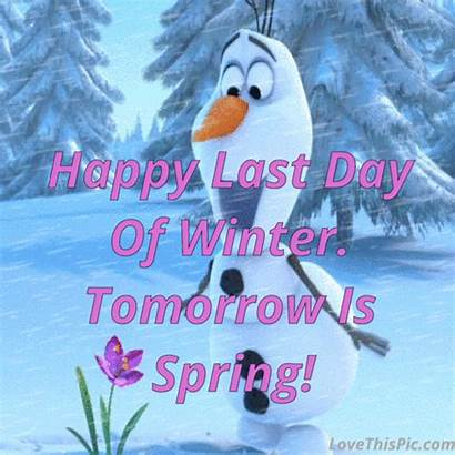 Winter Last Happy Spring Tomorrow Gifs Quotes