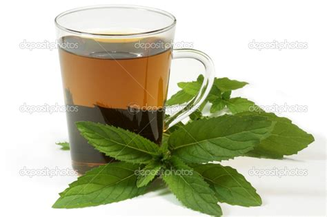 Peppermint tea