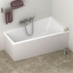 Baignoire D Angle Asymétrique : baignoire asym trique cavallo 160x90 cm version droite ~ Premium-room.com Idées de Décoration