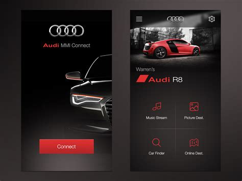 audi mmi connect app car tech