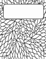 Binder Coloring Covers Printable Colouring Adult Notebook Sheets Subject Template Teenagers Adults Teacherspayteachers Binders Doodle Printables Templates Doodles Teachers Arts sketch template