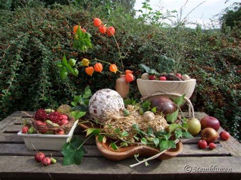 Herbstdeko Im Garten by Herbstdeko 2016 Garten Herbstdeko 2016 Gartenromantische