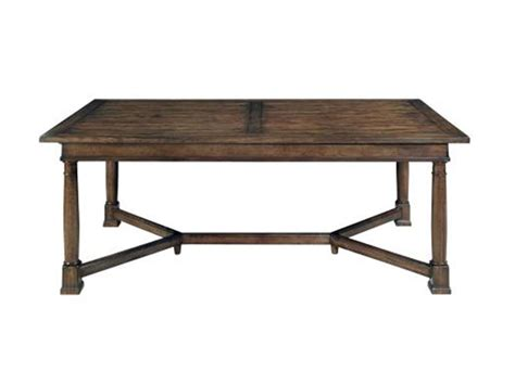 bernhardt dining room trestle table 322 224 finesse