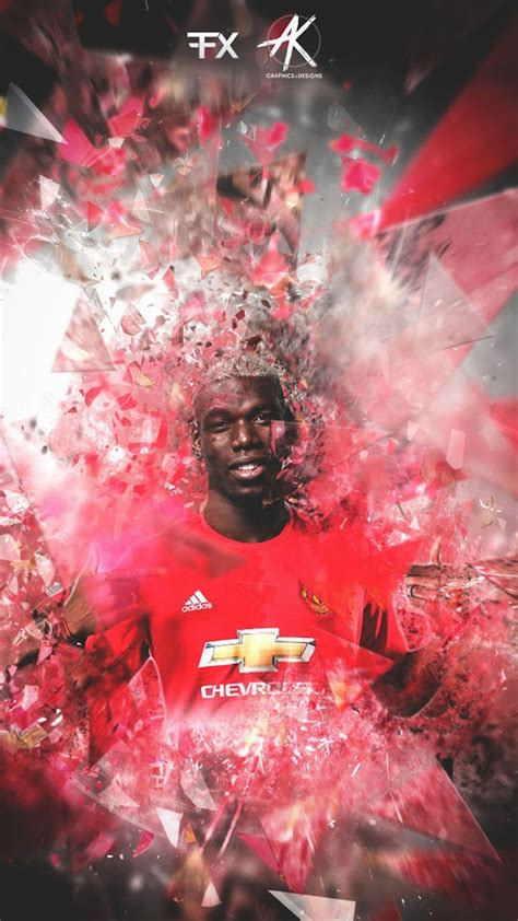 paul pogba manchester united wallpapers wallpaper cave