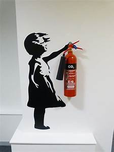 the 25 best fire extinguisher ideas on pinterest fire With kitchen cabinets lowes with banksy wall stickers