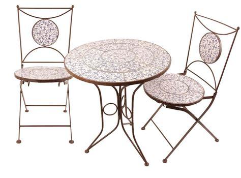 Table Et Chaises by Table Et Chaises Jardin Fer Forg 233 C 233 Ramique 2 Personnes