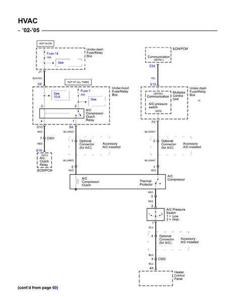 02 honda civic c compressor wiring free wiring