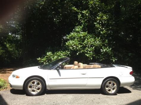 2000 Chrysler Sebring Convertible Parts by Purchase Used 2000 Chrysler Sebring Jxi Convertible 2 Door
