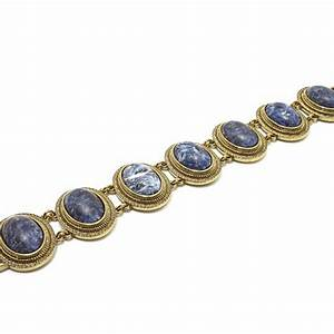 AUDREY HEPBURN JEWELRY COLLECTION! GENUINE SODALITE ...
