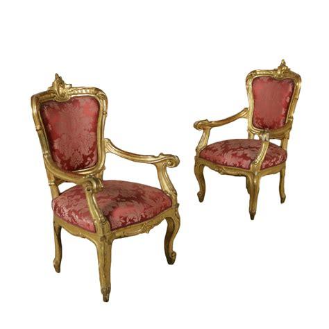 poltrone it coppia di poltrone sedie poltrone divani antiquariato