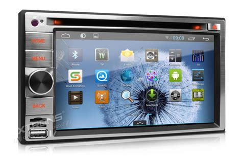android din autoradio 2 din gps dvd android 4 1 233 cran tactile 6 2