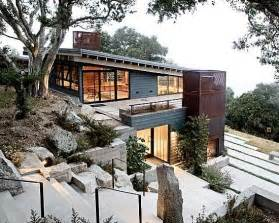 Inspiring Steep Hillside House Plans Photo by Tips For Building On A Sloped Terrain In Architecture