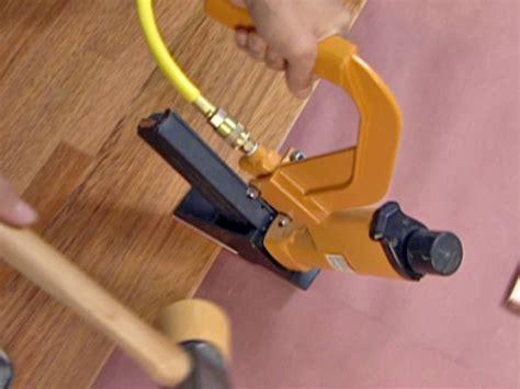 hardwood flooring nailer how to install a heated hardwood floor how tos diy