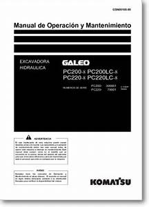 Diagrama  Manual Komatsu Pc220lc