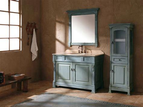 catania single bath vanity antique ocean