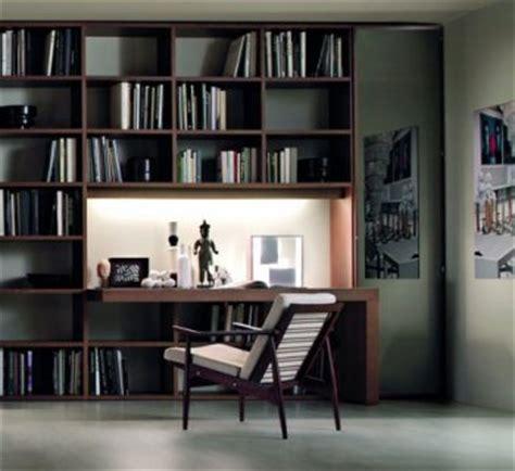libreria con scrivania integrata il di frigerio novit 224 per l arredamento