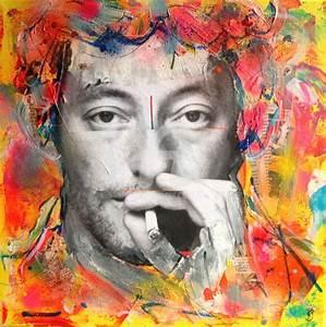 Toile Street Art : portrait sur toile mh04 jornalagora ~ Teatrodelosmanantiales.com Idées de Décoration