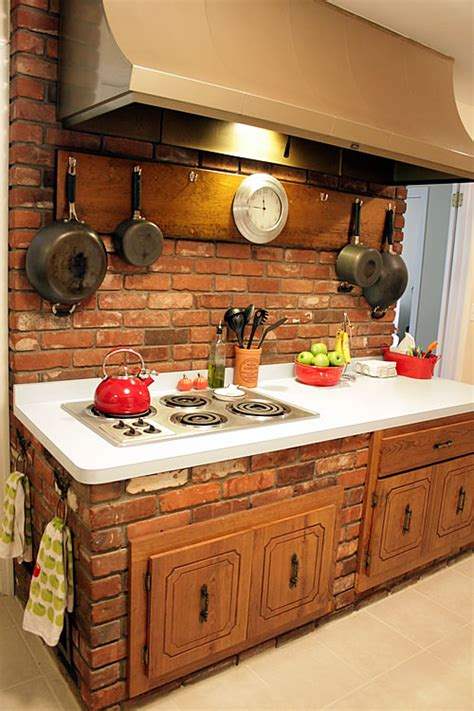 Brick Kitchen Cupboards by Kitchen And Family Rooms That Were Meant To Live As One