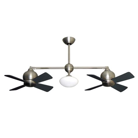 Metropolitan Dual Motor Ceiling Fan by Metropolitan Dual Motor Ceiling Fan Modern Styling With