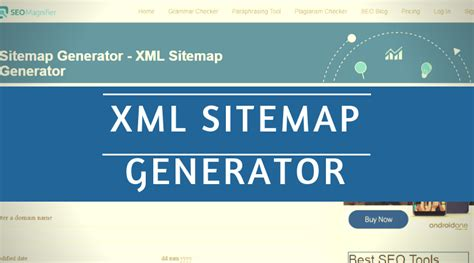 Best Sitemap Generator by Xml Sitemap Generator Best Sitemap Generator Seomagnifier