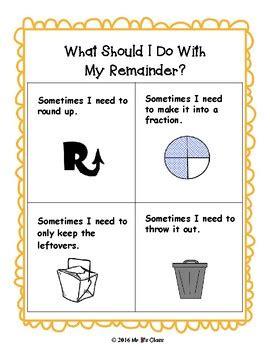 interpreting remainders division word problems   ks