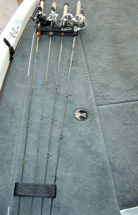 Fishing Rod Straps For Boat Deck by Boatbuckle Fishing Rod Hold Down Plus System 4 Rods With